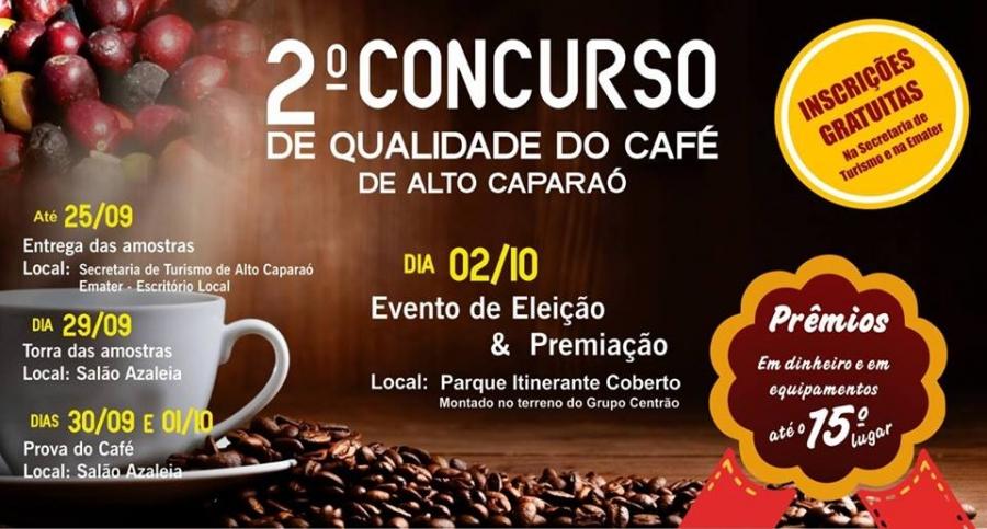 O 2º Concurso de Qualidade do Café de Alto Caparaó