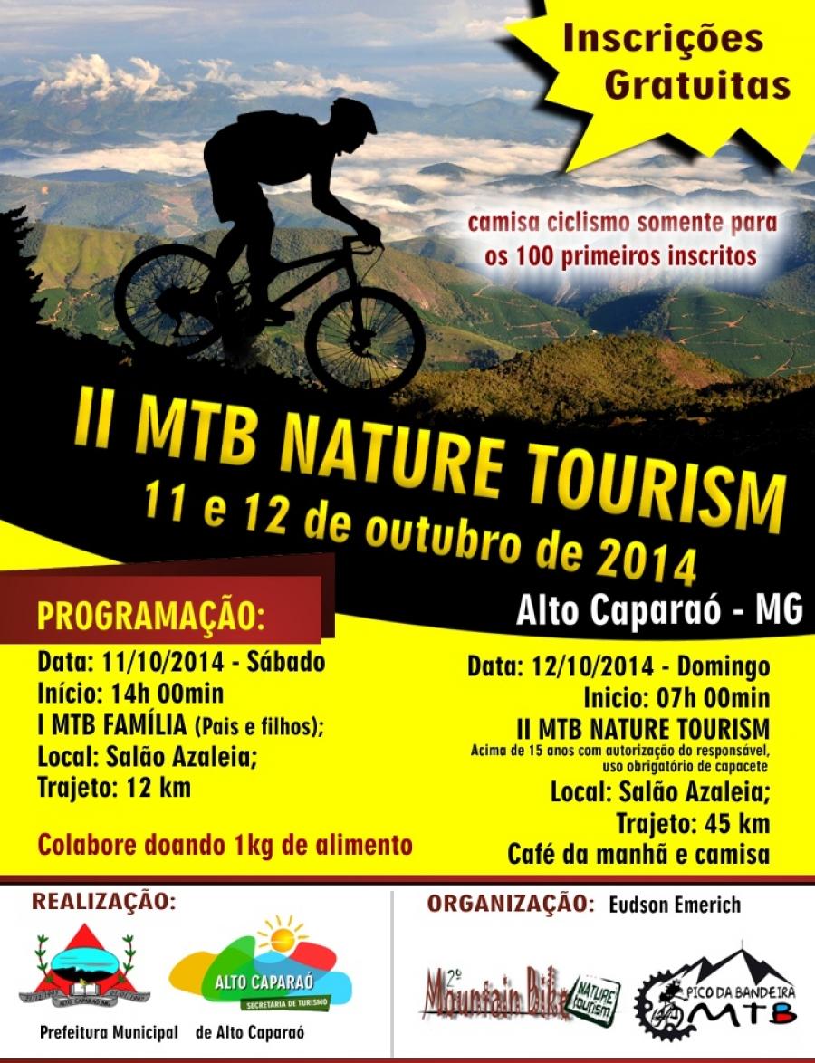 II MTB NATURE TOURISM EM ALTO CAPARAÓ