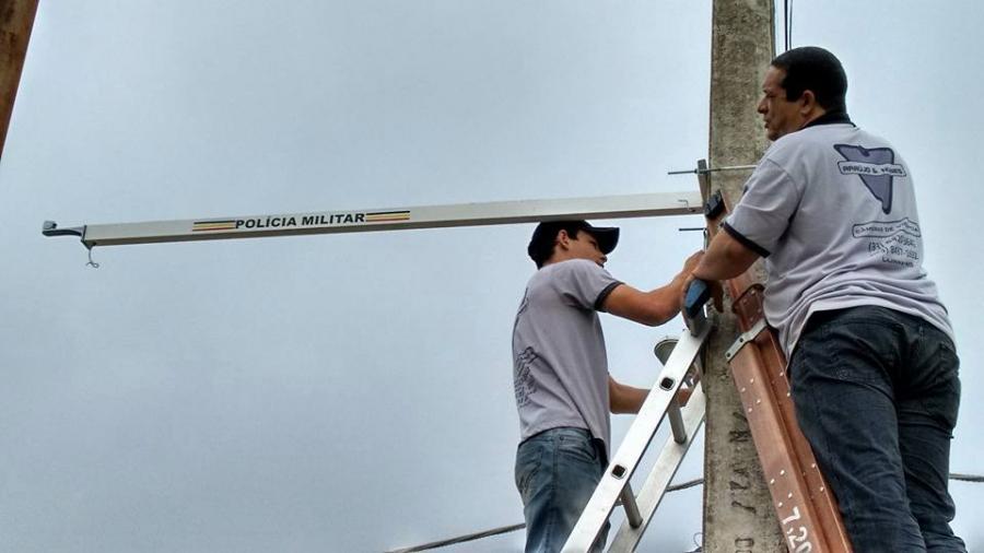 Câmeras de Monitoramento 24 horas começam a ser instaladas em Alto Caparaó.