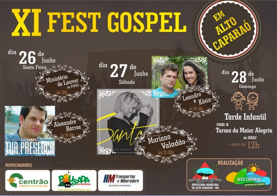 11º Fest Gospel em Alto Caparaó