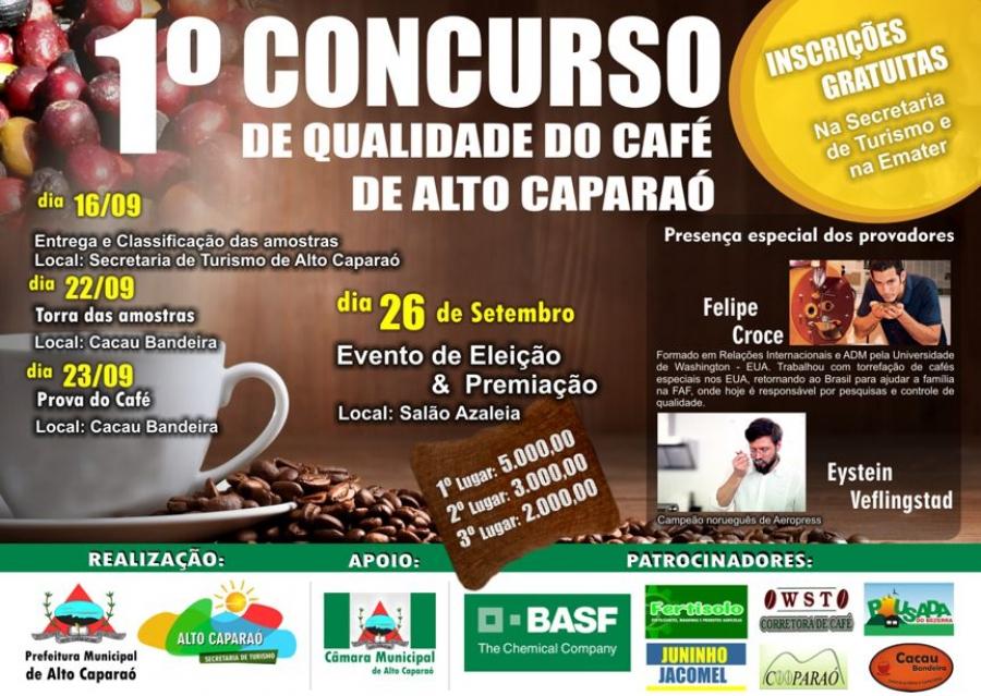 1º Concurso de Qualidade do Café de Alto Caparaó